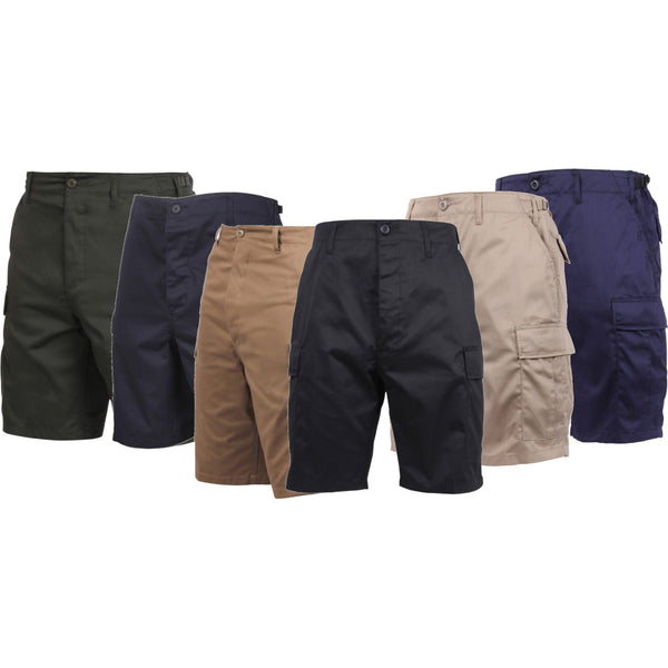 Rothco Solid Color BDU Shorts Group Image