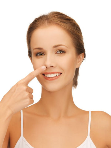 clean nose for nasal strips