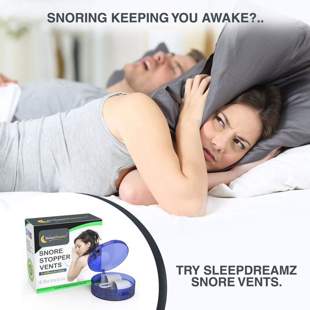 Threaded Snore Vents - SleepDreamz