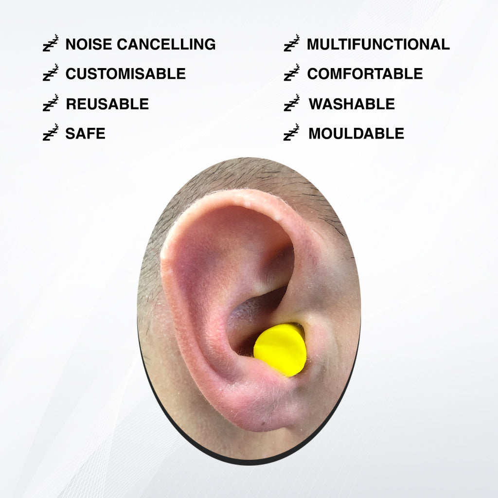 Foam Ear Plugs for Sleeping (x10 pairs) - SleepDreamz