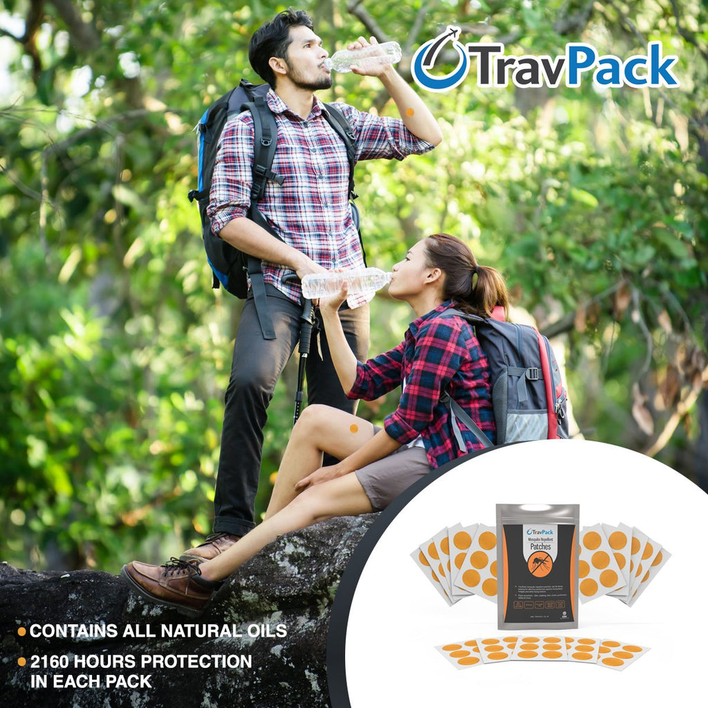 Mosquito Repellent Patches - TravPack