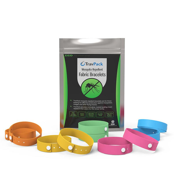 Fabric Mosquito Repellent Bands - TravPack