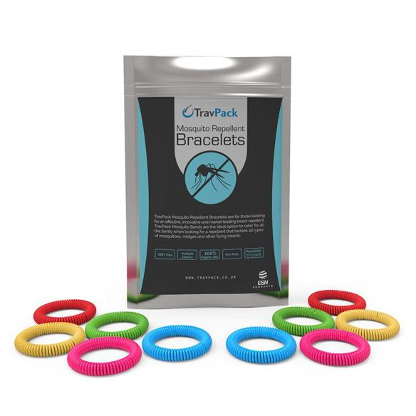 Silicone Mosquito Repellent Bands - TravPack