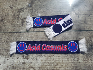 Acid Casuals  jacquard knitted scarfs