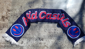 Acid Casuals jacquard knitted scarf