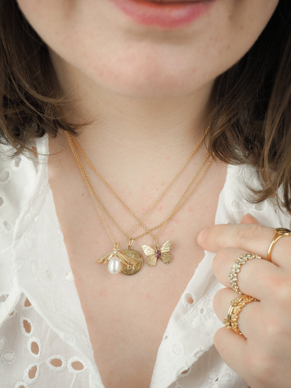 How To Layer Necklaces Without Knots