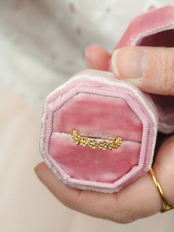 Gold Vermeil Small Garland Ring