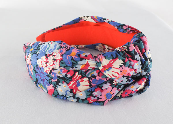 Liberty Print Wide Knot Headband