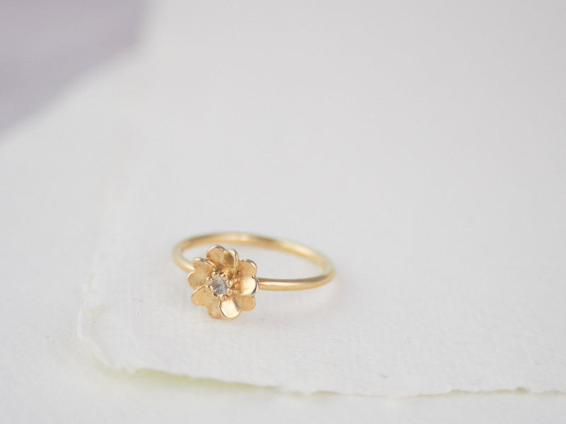 Gold Vermeil Wild Rose Ring