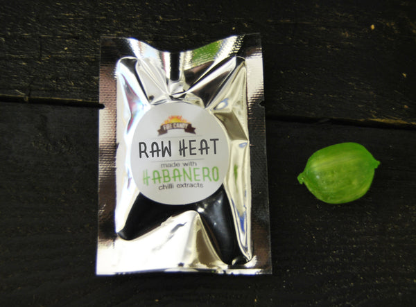 """Raw Heat"" Habanero Pepper - single sweet"