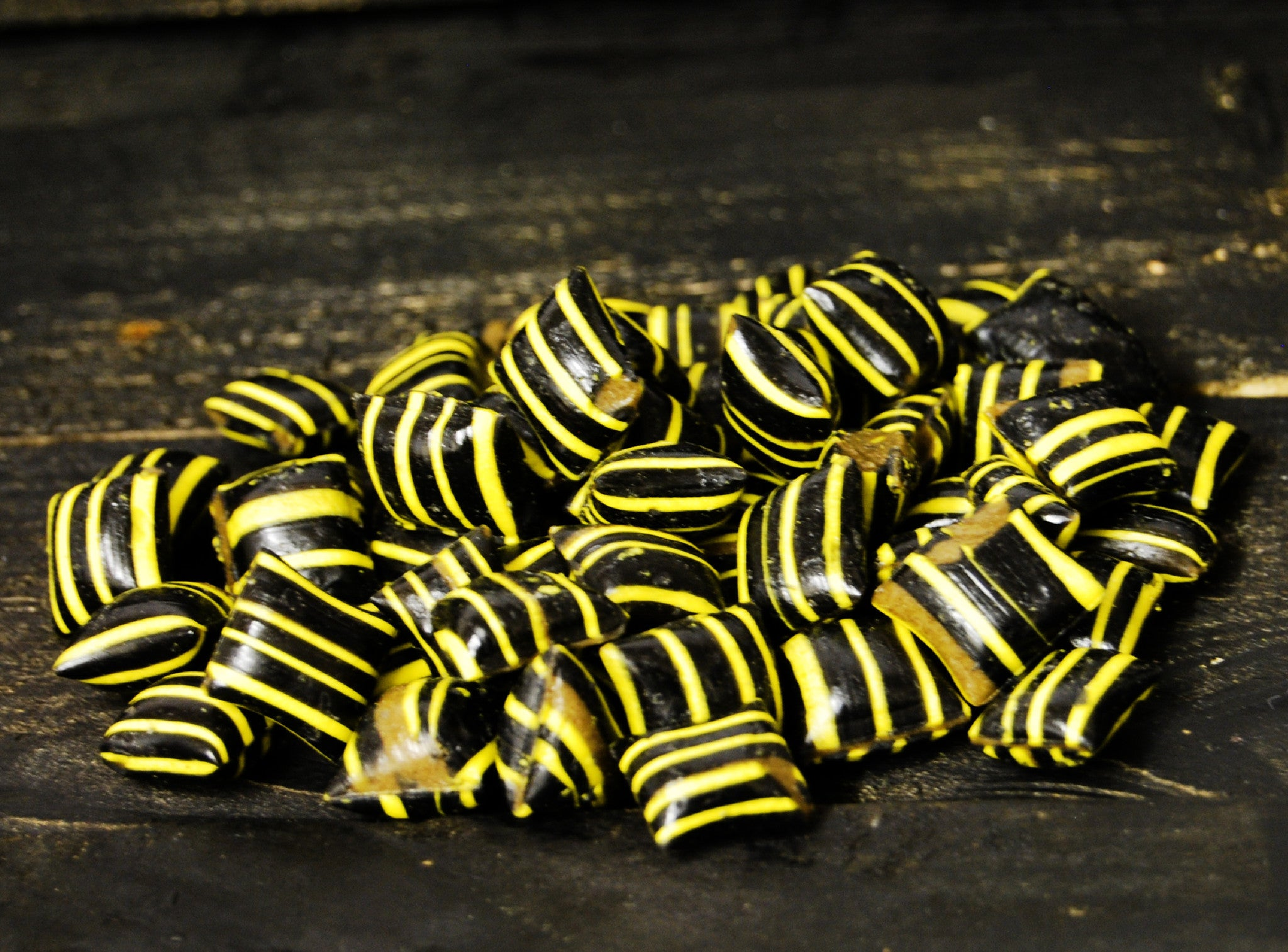 Salted Liquorice and Chill Wasps