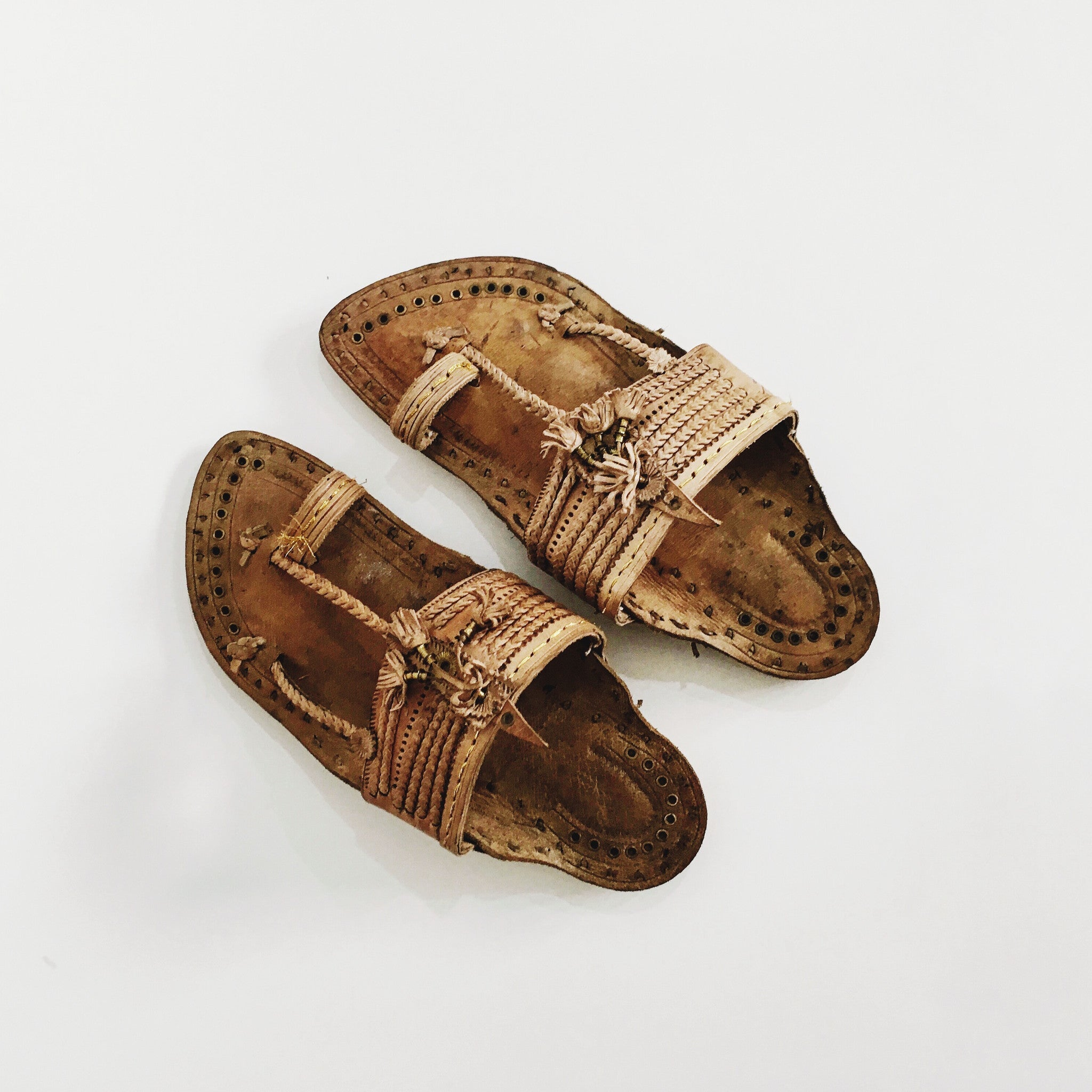 Royal Camel Leather Kolhapuri Sandals