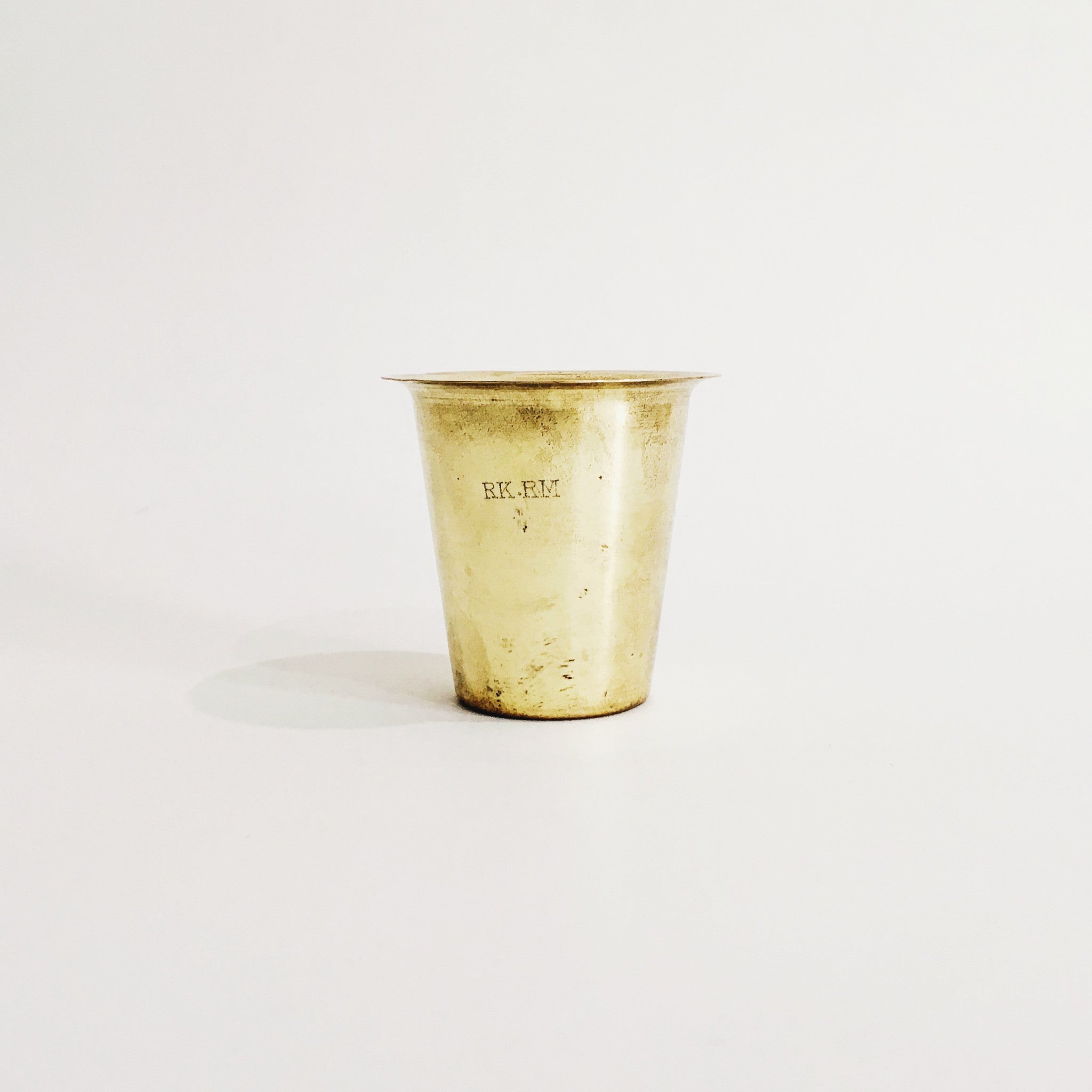 99% Brass Cup