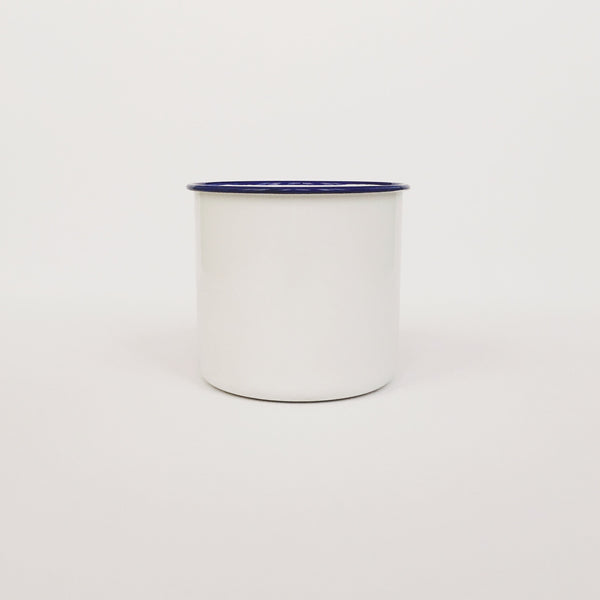 White/Royal Blue 12cm Jug