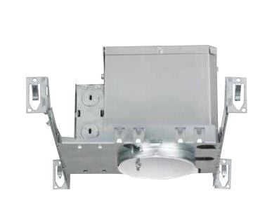 "4"" Line Voltage Recessed Can, New Construction IC Airtight - Lighting Getz"