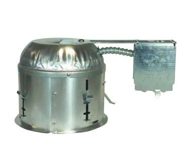"6"" Line Voltage Recessed Can, Remodel Construction Shallow IC - Lighting Getz"