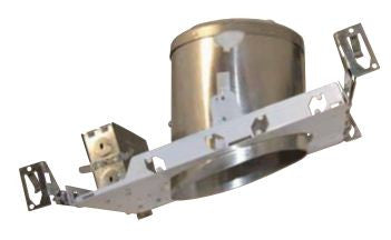 "6"" Line Voltage Recessed Can, for Sloped Ceilings New Construction for Sloped Ceiling IC Airtight - Lighting Getz"