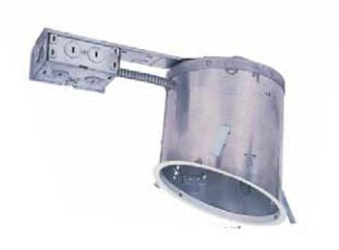 "6"" Line Voltage Recessed Can, for Sloped CeilingsRemodel Construction for Sloped Ceiling IC Airtight - Lighting Getz"