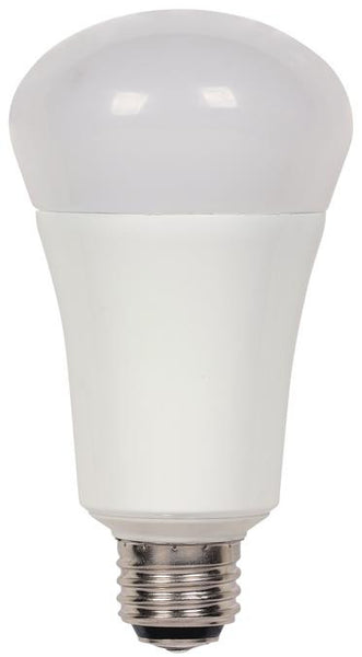 4/9/20 Watt (Replaces 30/60/100 Watt) Omni A21 3-Way LED Light Bulb, 2700K Warm White E26 (Medium) Base, 120 Volt, Box - Lighting Getz