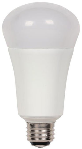 4/9/20 Watt (Replaces 30/60/100 Watt) Omni A21 3-Way LED Light Bulb, 2700K Warm White E26 (Medium) Base, 120 Volt, Box