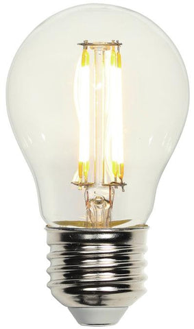 5 Watt (Replaces 40 Watt) A15 Dimmable Filament LED Light Bulb, 2700K Warm White E26 (Medium) Base, 120 Volt, Box