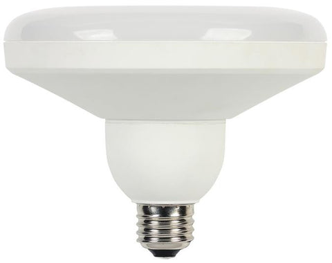 15 Watt (Replaces 75 Watt) DLR46 Utility LED Light Bulb, 2700K Warm White E26 (Medium) Base, 120 Volt, Box