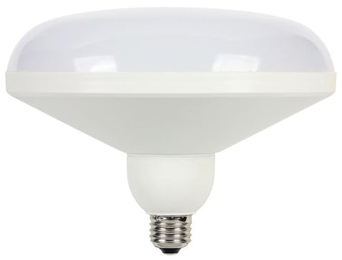 20 Watt (Replaces 100 Watt) DLR64 Utility LED Light Bulb, 2700K Warm White E26 (Medium) Base, 120 Volt, Box