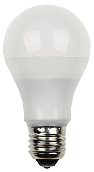 10 Watt (Replaces 60 Watt) Omni Dimmable LED Light Bulb, 3000K Warm White E26 (Medium) Base, 120 Volt Card - Lighting Getz