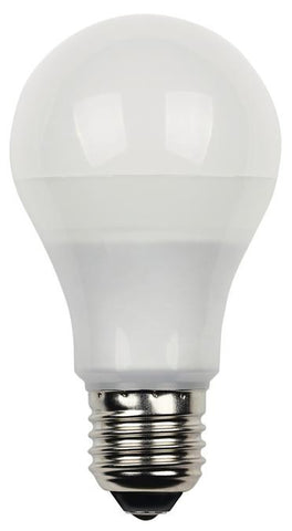10 Watt (Replaces 60 Watt) Omni Dimmable LED Light Bulb, 3000K Warm White E26 (Medium) Base, 120 Volt Card