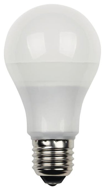 9 Watt (Replaces 60 Watt) Omni LED Light Bulb, 3000K Warm White E26 (Medium) Base, 120 Volt Card - Lighting Getz
