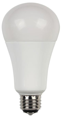 3/9/17 Watt (Replaces 30/60/100 Watt) Omni A21 3-Way LED Light Bulb, ENERGY STAR, 2700K Warm White E26 (Medium) Base, 120 Volt, Box