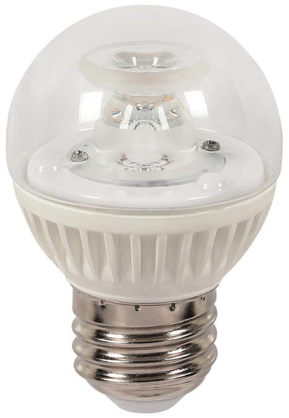 7 Watt (Replaces 60 Watt) Globe G16-1/2 Dimmable LED Light Bulb, ENERGY STAR, 2700K Warm White E26 (Medium) Base, 120 Volt, Box - Lighting Getz
