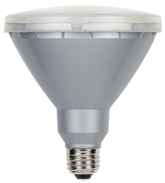15 Watt (Replaces 90 Watt) PAR38 Reflector LED Outdoor Light Bulb, 3000K Warm White E26 (Medium) Base, 120 Volt Box - Lighting Getz