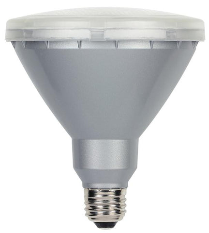 15 Watt (Replaces 90 Watt) PAR38 Reflector LED Outdoor Light Bulb, 3000K Warm White E26 (Medium) Base, 120 Volt Box