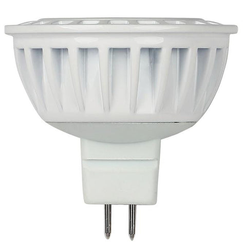 5 Watt (Replaces 35 Watt) MR16 Dimmable LED Light Bulb, 3000K Warm White GU5.3 Base, 12 Volt Hanging Box