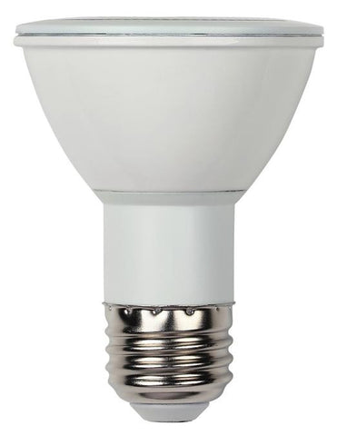 7 Watt (Replaces 50 Watt) PAR20 Reflector Dimmable LED Light Bulb, 3000K Warm White E26 (Medium) Base, 120 Volt Box