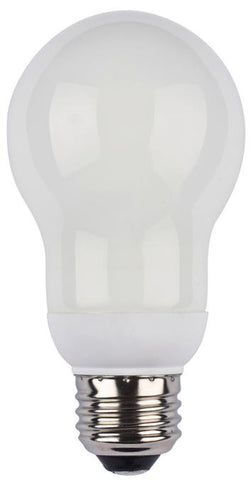 14 Watt A Shape CFL Light Bulb, 2700K Warm White E26 (Medium) Base, Box