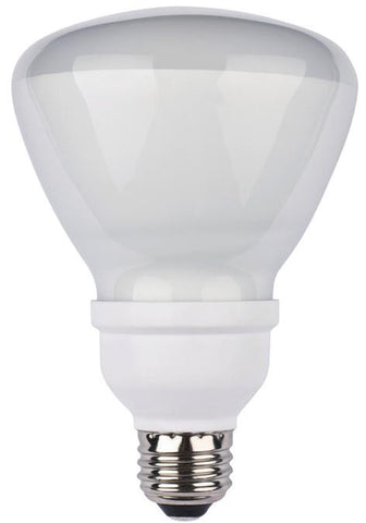15 Watt BR30 CFL Light Bulb, 2700K Warm White E26 (Medium) Base, Box
