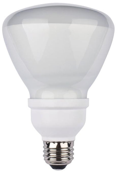 15 Watt R30 CFL Light Bulb, 2700K Warm White E26 (Medium) Base, Box (2-Pack) - Lighting Getz