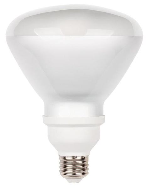 23 Watt R40 CFL Light Bulb, 2700K Warm White E26 (Medium) Base, Box - Lighting Getz