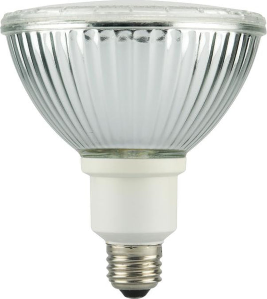 23 Watt PAR38 CFL Glass Reflector Light Bulb, 2700K Warm White E26 (Medium) Base, Box - Lighting Getz