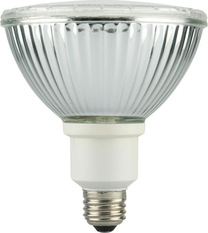 23 Watt PAR38 CFL Glass Reflector Light Bulb, 2700K Warm White E26 (Medium) Base, Box