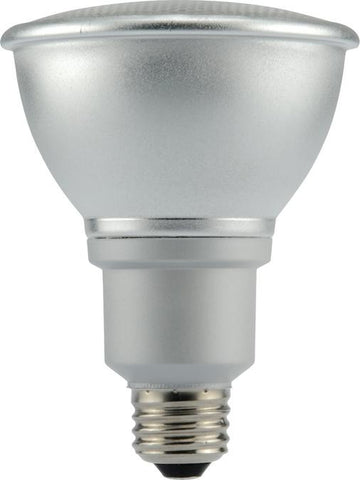 15 Watt PAR30 CFL Aluminum Reflector Light Bulb, 3000K Warm White E26 (Medium) Base, Box