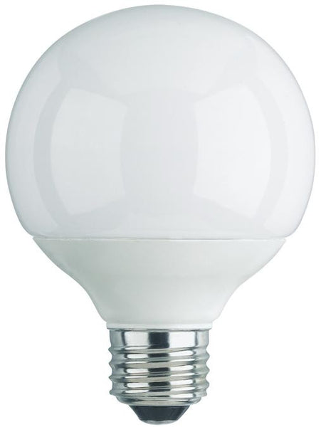 15 Watt Globe CFL Light Bulb, 2700K Warm White E26 (Medium) Base, Box - Lighting Getz