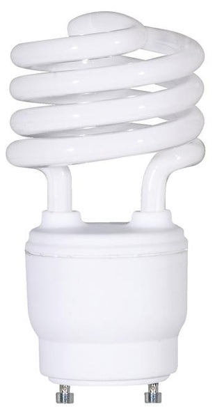 18 Watt Mini-Twist CFL Light Bulb, 2700K Warm White GU24 Base, Box - Lighting Getz