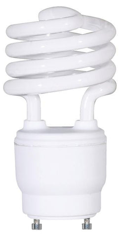 18 Watt Mini-Twist CFL Light Bulb, 2700K Warm White GU24 Base, Box