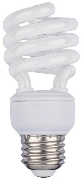 14 Watt Mini-Twist CFL Light Bulb, 4100K Cool White E26 (Medium) Base, Box - Lighting Getz