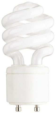 13 Watt Mini-Twist CFL Light Bulb, 2700K Warm White GU24 Base, Box