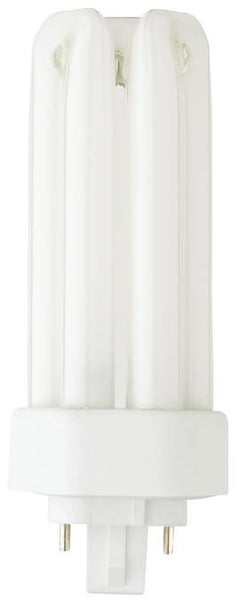 26 Watt Double Twin Tube CFL Light Bulb, 2700K Warm White G24Q-3 Base, Box - Lighting Getz