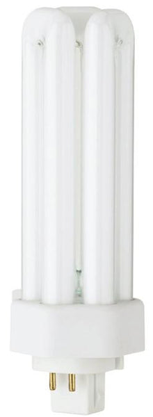 32 Watt Triple Twin Tube CFL Light Bulb, 2700K Warm White GX24q-3 Base, Box - Lighting Getz